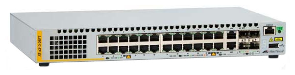 Фотография товара 'Allied Telesis Коммутатор 24 порта Ethernet 10/100/1000 Мбит/сек AT-x230-28GP'